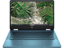"Nuevo HP CHROMEBOOK X360 INTEL CELERON 2.8GHZ 4GB 64GB SSD 14"" 2 en 1 Pantalla Táctil"