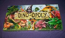 Dino-opoly Monopoly Dinosaur Dino Prehistoric Family Game MIB BRAND NEW