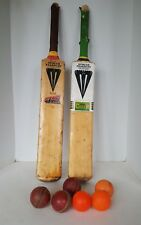 2 x Duncan Fearnley Cricket Bats Attack with Ian Botham and Extra Cover & balls