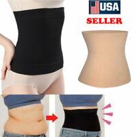 Women Fat Burner Sauna Tummy Tuck Belt Body Shaper Girdle For Belly Slimming Hot