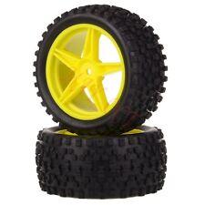 2x 1/10 HSP Off-road Buggy 06024 Rear Wheel Rim Tyre,Tires Insert Sponge 66023