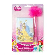 Disney Princess Mini Diary with Pen Sketch Drawings Belle Cinderella Rapunzel