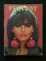 Vintage Playboy Magazine  Dec 1966 Complete Tight Flat Glossy Copy!! See Pics!!