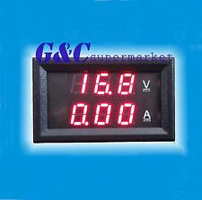New DC 0-100V 10A Dual LED Digital Voltmeter Ammeter Voltage AMP Power M24