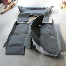 05 06 07 08 09 10 11 12 13 CORVETTE USED ORIGINAL EBONY CARPET SET FRONT & REAR