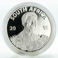 South Africa 1 rand Nelson Mandela work as a lawyer silver coin 2016