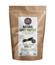 Natural Whey Protein - Refreshing Vanilla 500g - 78% Protein - Bio Molkenprotein