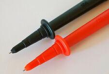 Genuine Fluke Tp74 Lantern Tip Test Probe Red Black For Fluke Tl222 Tl224 New!