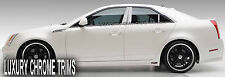Cadillac CTS Stainless Steel Chrome Pillar Posts by Luxury Trims 2008-2013 (6pc)