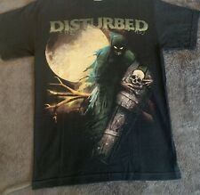 DISTURBED Band T-Shirt Graphic Tee SMALL