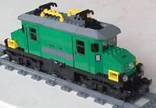 Lego City treno Locomotiva motorizzata RC radiocomando 7898 no 7936 7938 60052