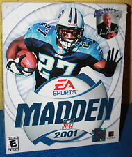 EA Sports Madden 2001 Football PC CD-ROM CIB