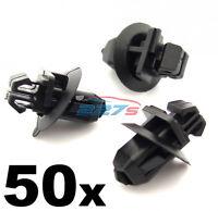 50x Side Moulding Clips & Wheel Arch Trim Clips Fits Toyota Land Cruiser Prado