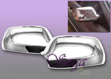 FOR 2004 2005 2006 2007 2008 MAZDA 3 CHROME SIDE MIRROR COVERS COVER US SELLER!