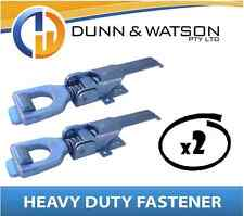 Heavy Duty Over Center Fastener x2 (Lock Latch handle) Trailer Tray Truck (K210)