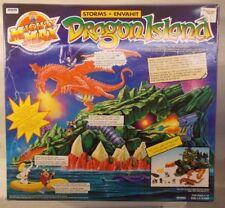 Mighty Max Storms Dragon Island Playset Skull Master Zilard Warrior Mattel MISB