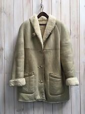 Vintage Women's Shearling Sheepskin Cristiano Di Thiene Coat Jacket 52 XL / XXL