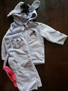 Disney Eeyore Jogger Outfit, Purple, 18M, Winnie the Pooh
