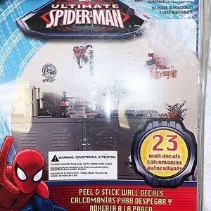 Ultimate Spider-Man Marvel Comics Peel & Stick Wall Decals RoomMates RMK2170SCS