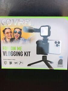Go Viral Digipower Follow Me Vlogging Kit brand new
