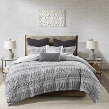 Ink+Ivy 100% Cotton Duvet Set Mid Century Modern Design, All Season Comforter