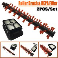 2pcs Roller Brush & HEPA Filter For Bissell Crosswave 1785 Series Vacuum Cleaner