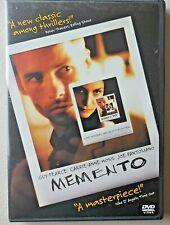 Memento (Dvd, 2001) Columbia Tristar Home Entertainment Christopher Nolan
