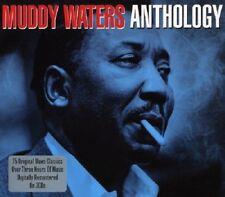Muddy Waters Anthology 3-CD NEW SEALED Blues Mannish Boy/Smokestack Lightnin'