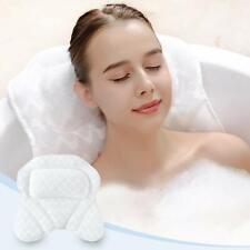 Tub Pillow Bath Cushion 3D Air Mesh With Strong Suction Cups