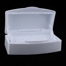 Plastic Sterilizing Tray Disinfectant Jar for Salon Barber Styling Nail Tool