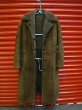 STUNNING REAL SHEEPSKIN LADIES LONG COAT  UK SIZE 10