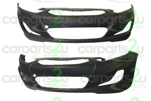 TO SUIT HYUNDAI ACCENT RB FRONT BUMPER 07/11 to 12/13