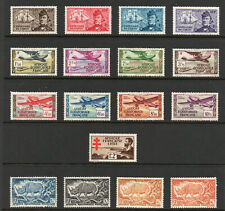 French Equitorial Africa - (17) Older Issues MLH / MH(rem)  -  Lot 0520249