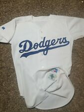 Vtg 1999 Russell Athletic LA Los Angeles Dodgers Diamond Collection Jersey Sz 38