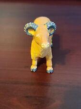 Vintage 1989 Funrise Sheep / Ram Countryside Farm Animal Pvc Figure