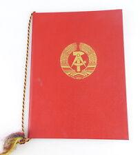 Urkunde : Medaille für Verdienste in der Volkskontrolle der DDR 1.5.1982 / r102