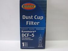 Envirocare Sears Kenmore Quick Clean Uprights DCF-5 HEPA Filter Dirt Cup Quality
