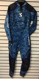 Scubapro Everflex 3/2 Camo Blue Ladies LT Suit