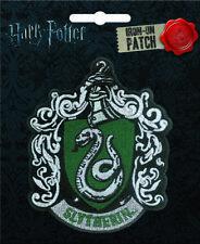 Harry Potter Iron On Patch: Slytherin House Crest
