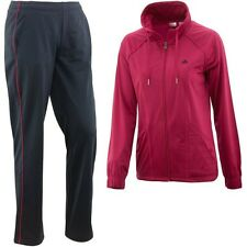 SIZE SMALL - ADIDAS CLASSIC FULL TRACKSUIT - PINK / NAVY
