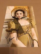 EMMA PIERSON  -  SEXY  POSE   -  SIGNED  COL PHOTO  11X8 inch   -   UACC