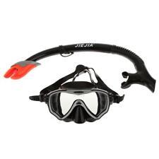 Lunettes Masque de Plongée avec Tuba de Respiration Adulte Noir