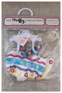 Muffy Vanderbear Egg Painting Walking on Eggshells Outfit Costume NABCO Open Bag