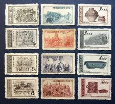 1950s' China Stamps 3 Full Sets(12) Unused