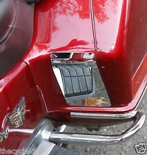 Honda Goldwing GL1500 Goldwing 1500 -Chrome Saddlebag Scuff Guards / Kick Plates