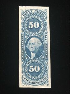 U.S: UNUSED #R61 IMPERF, NO GUM, HUGE MARGINS CV $140