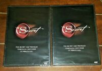 ☆WHOLESALE BUNDLE☆ 2 Copies of THE SECRET 2006, Extended Edition DVD's!