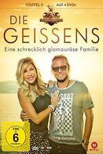 4 DVDs * DIE GEISSENS - EINE SCHRECKLICH GLAMOURÖSE FAMILIE - STAFFEL 8 # NEU !