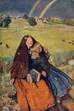 A4 Photo Millais John E 1829 1896 Gt 1905  The Blind Girl Print Poster