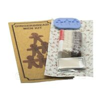 Dolls House Miniature Gingerbread Men Kit With Silicone Mould